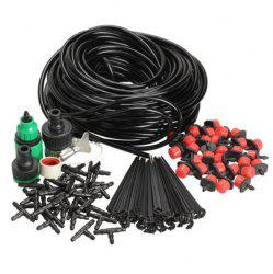 DIY 25m Red Dripper Set Adjustable Automatic Balcony Irrigation Micro Spray -