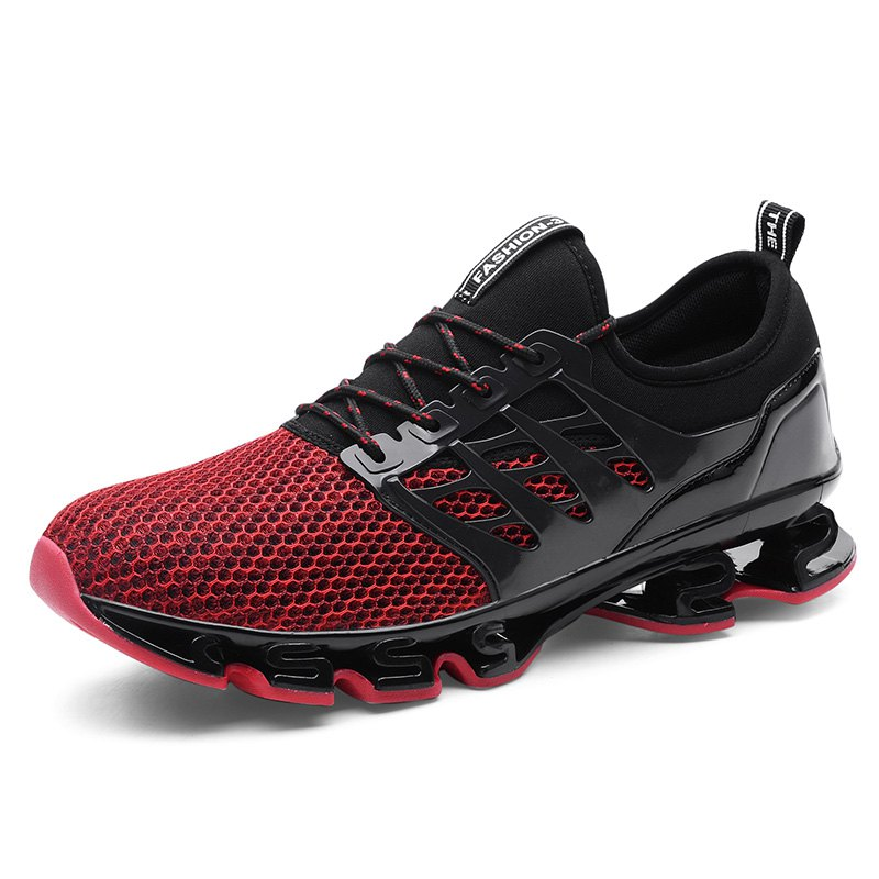 Trendy Breathable Lace-up Sports Shoes for Men