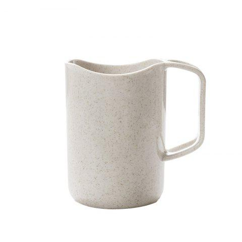 Fancy Wheat Fiber Portable Tooth Mug with Toothbrush Holder
