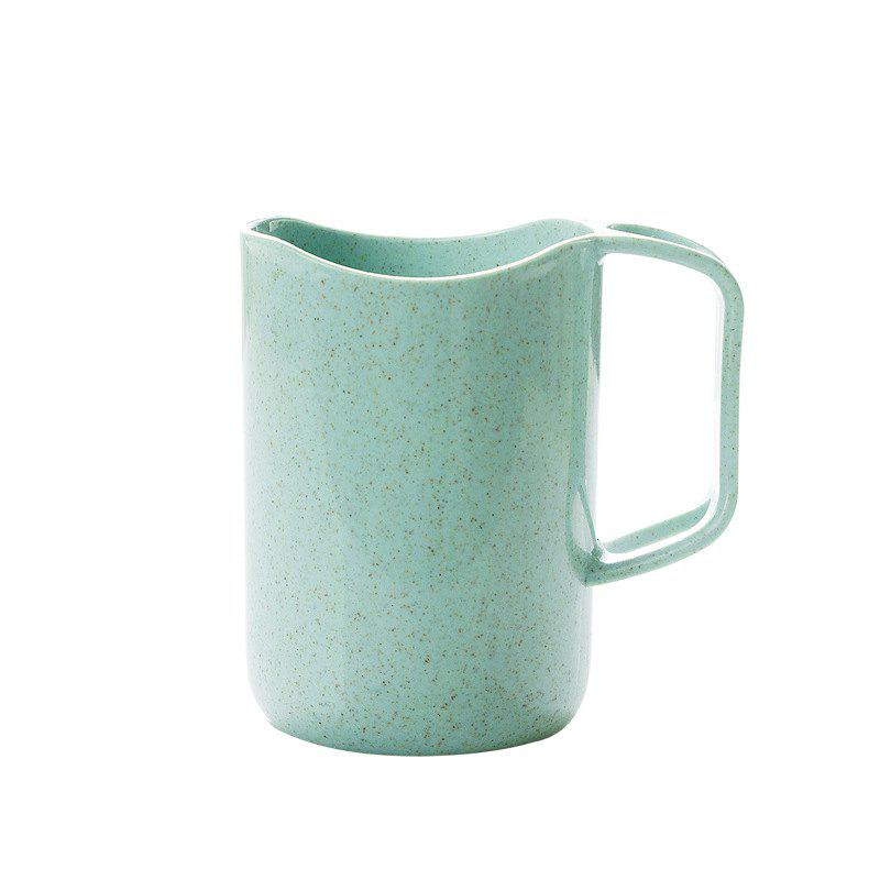 Shops Wheat Fiber Portable Tooth Mug with Toothbrush Holder
