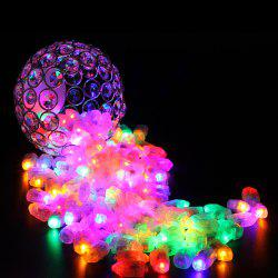 Small Light LED Bullet Balloon Decorative Bulb Lamp 50pcs -