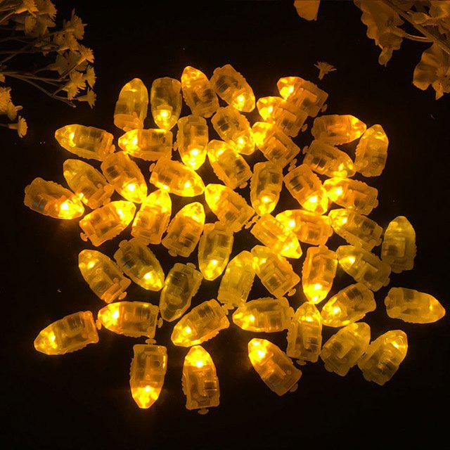 New Small Light LED Bullet Balloon Decorative Bulb Lamp 50pcs