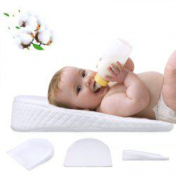 XML-013 Slope Baby Pillow Washable Memory Foam Хлопковая подушка - Белый