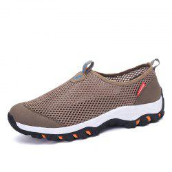 Male Breathable Mesh Cloth Casual Shoes -