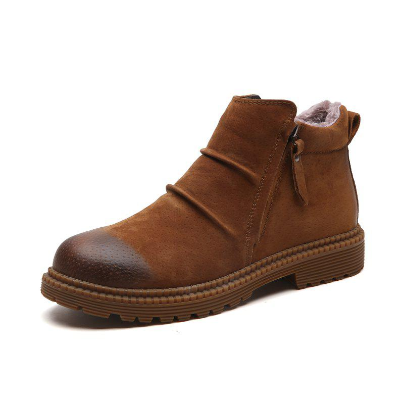 Discount Vintage High Top Warm Boots