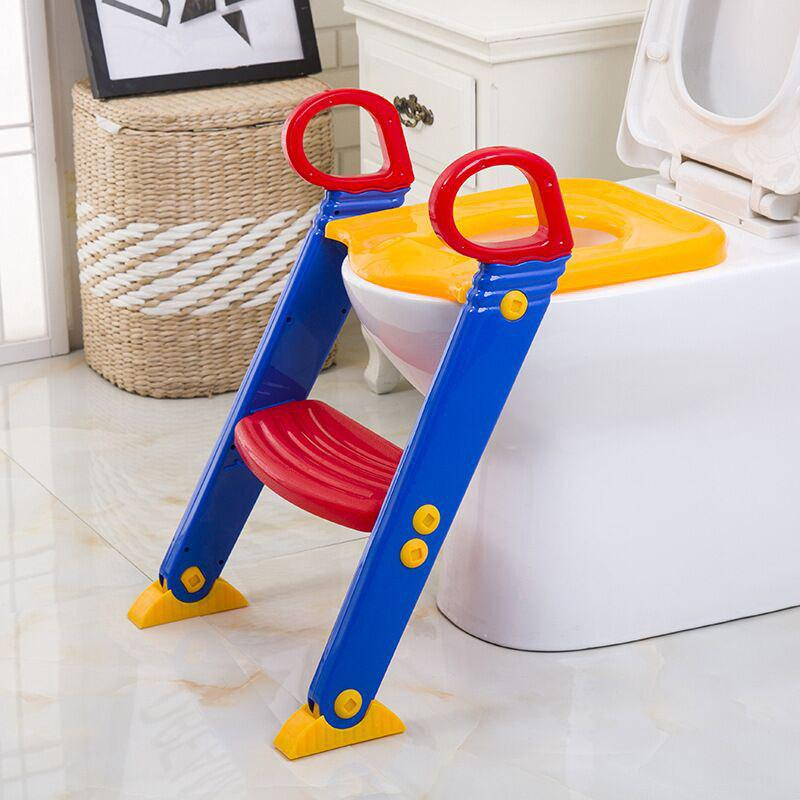 Latest HD - BBMTT Children Portable Toilet Chair Baby Ladder Folding Potty Seat