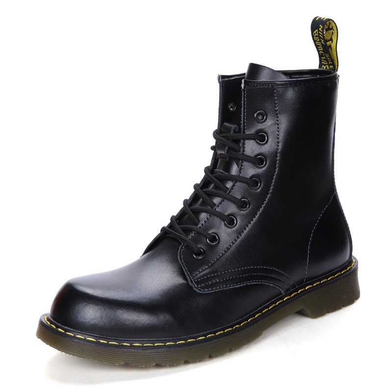 Latest Autumn and Winter Couple Martin Boots for Men