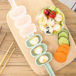 Shake Rice Ball Mold for Children Food Supplement -
