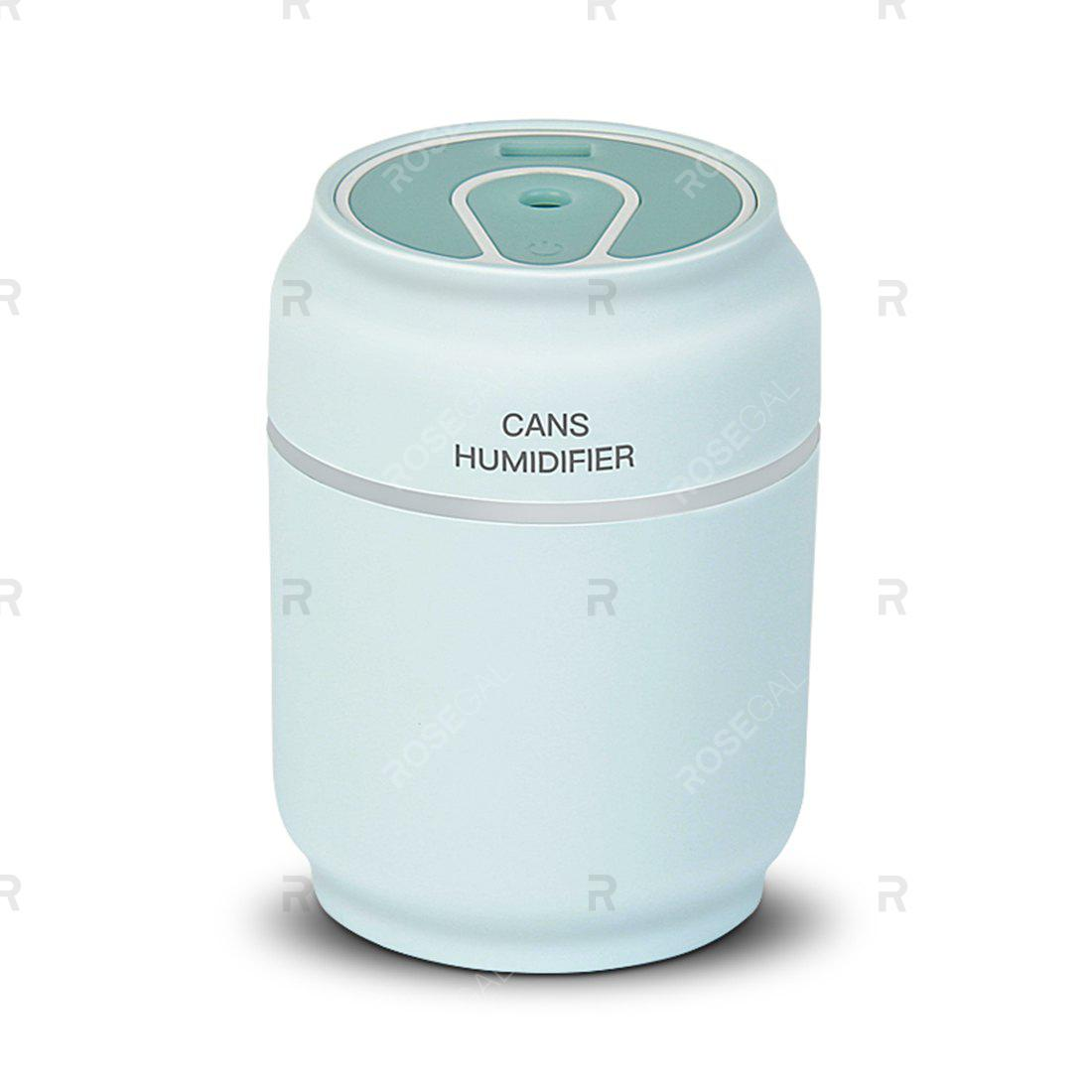 New M - J - 001 USB Can Humidifier with Night Light Fan Function 200ml