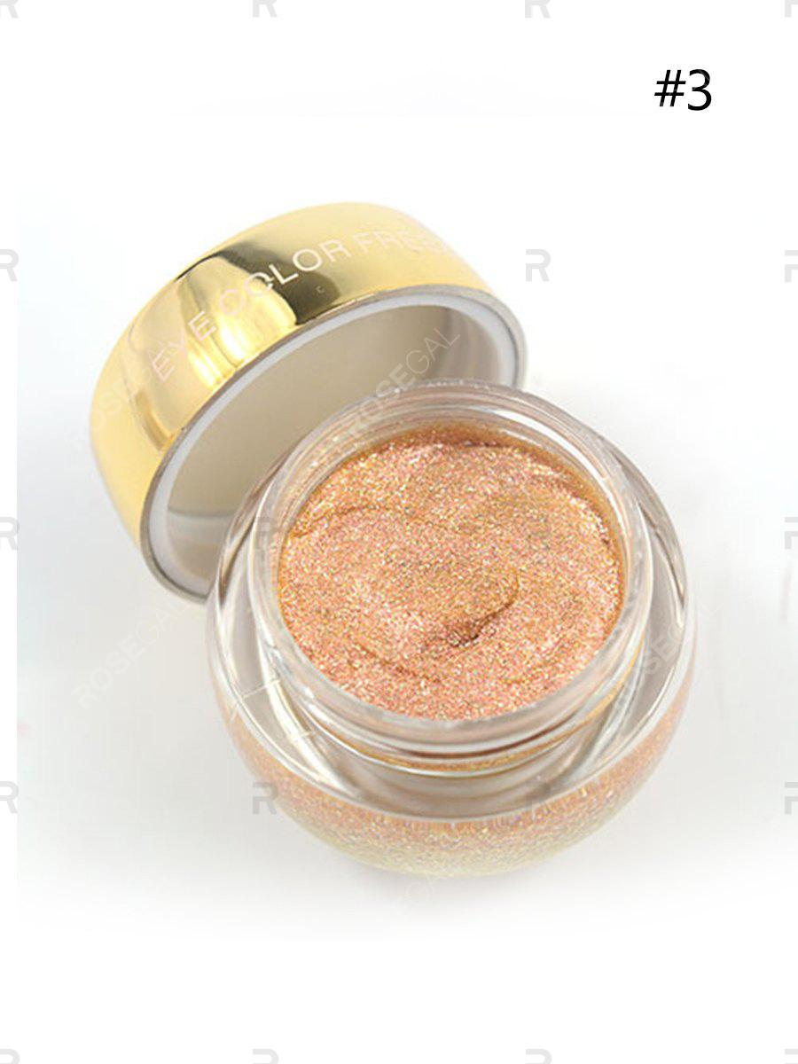 Online Eyeshadow The Eye Bottom Makeup Jelly Pearlescent Eye Shadow High Gloss Wet Eye Shadow High Quality