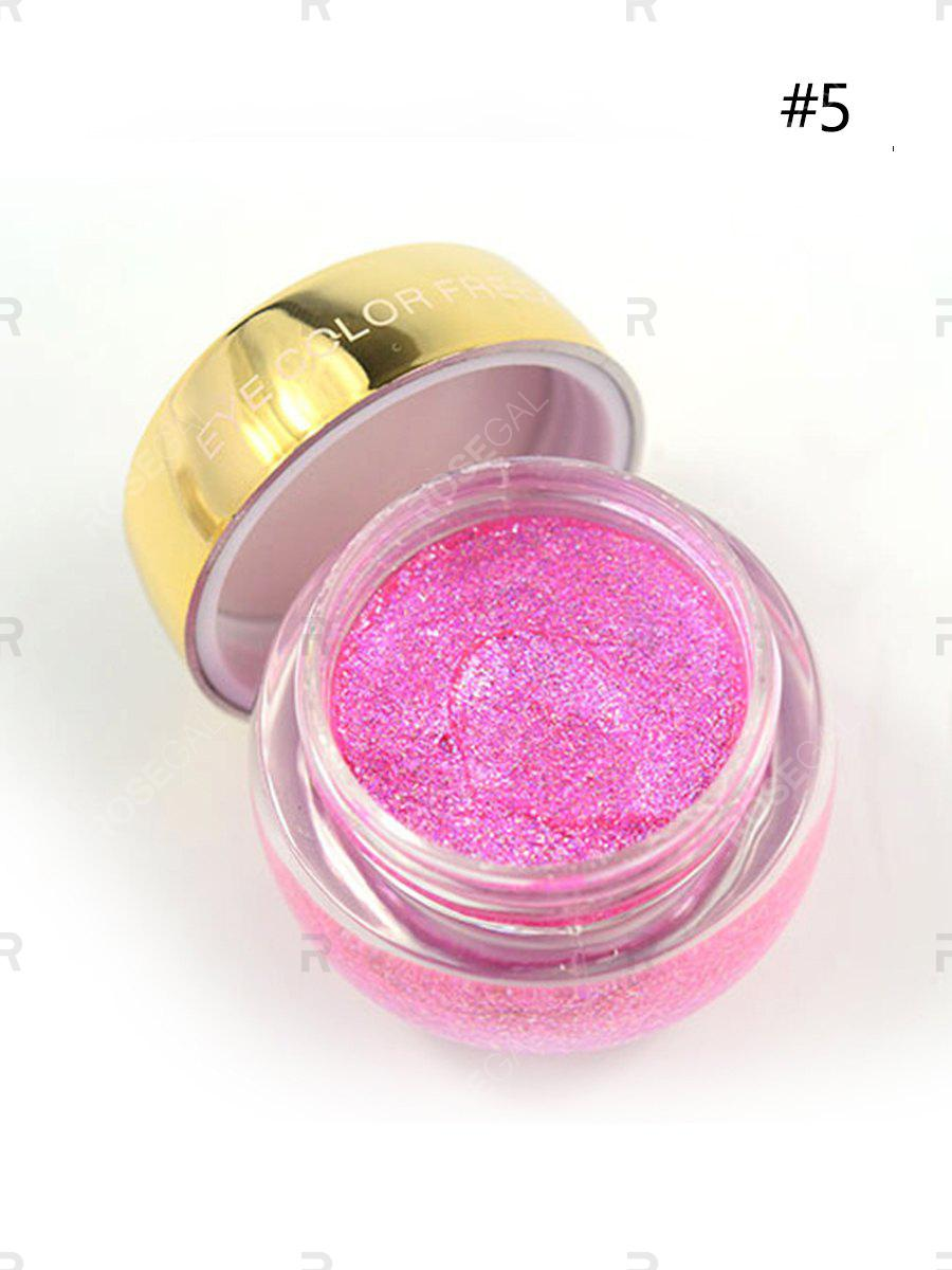 Latest Eyeshadow The Eye Bottom Makeup Jelly Pearlescent Eye Shadow High Gloss Wet Eye Shadow High Quality