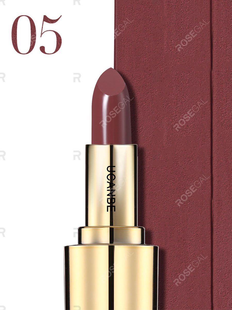 Outfit Crown Velvet Matte Lipstick Makeup Golden 5 Color Nude Long Lasting Pigment Lips Stick Natural Cosmetic Lip Rouge