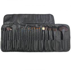 Professional 24 Pcs Makeup Brush Set Tools Make-up Toiletry Kit Wool Brand Make Up Brush Set Case -