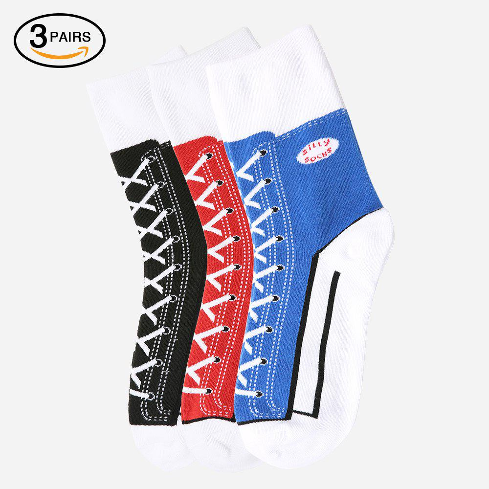 Shops Sneaker Silly Socks 3 Pairs