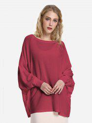 Long Sleeve Round Neck Top -