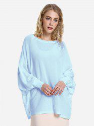 ZAN.STYLE Long Sleeve Round Neck Top -