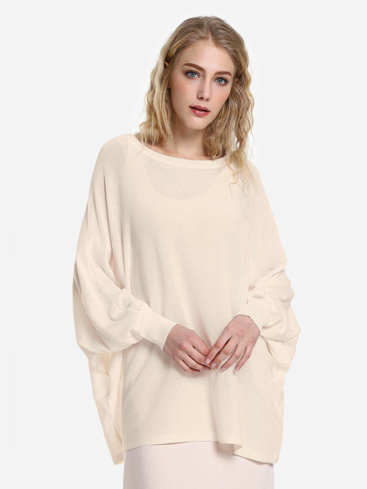 Cheap Long Sleeve Round Neck Top