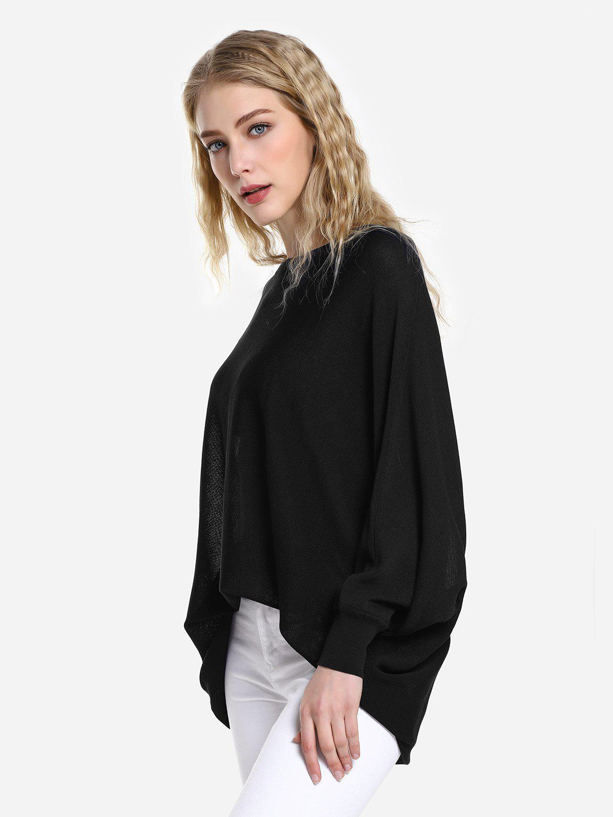 Sale Long Sleeve Round Neck Top