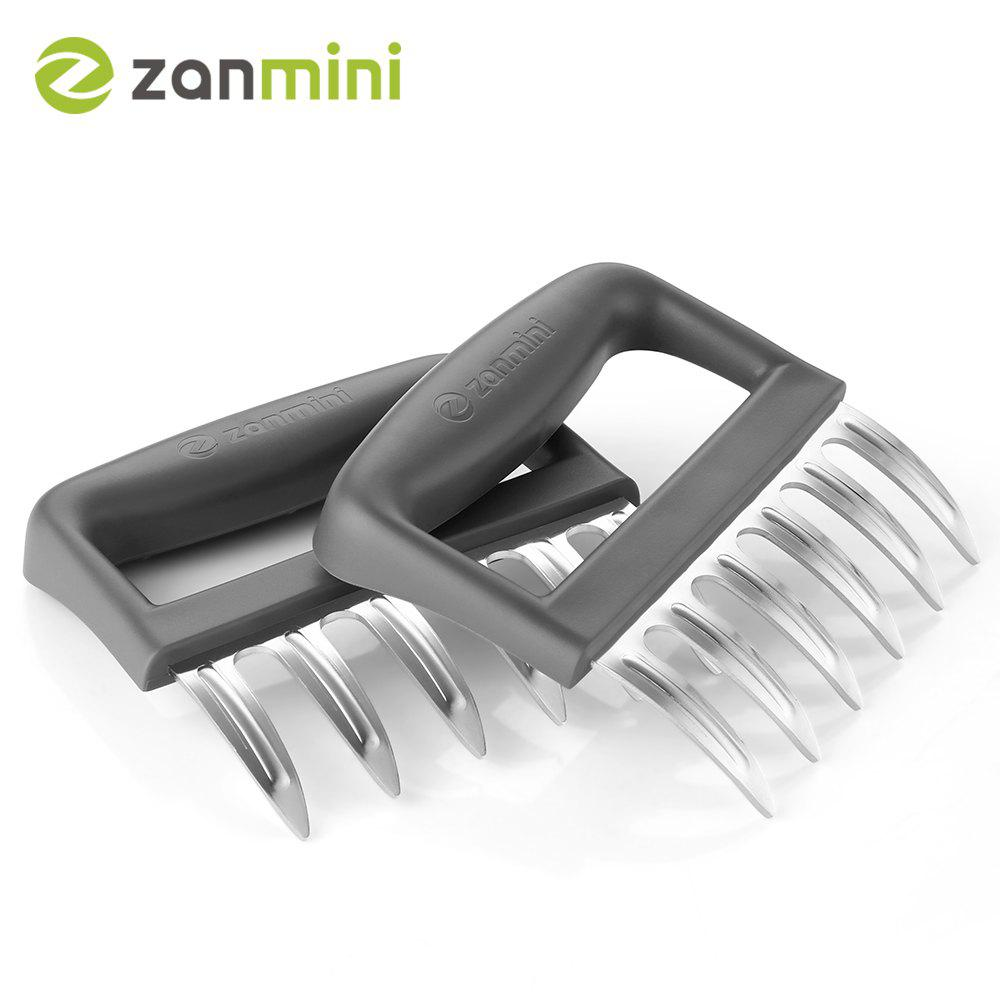 Unique zanmini ZMMC2 Stainless Steel Claw Meat Mincer Set of 2