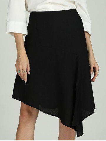 SBETRO Solid Skirt Dressy Casual Officewear for Ladies