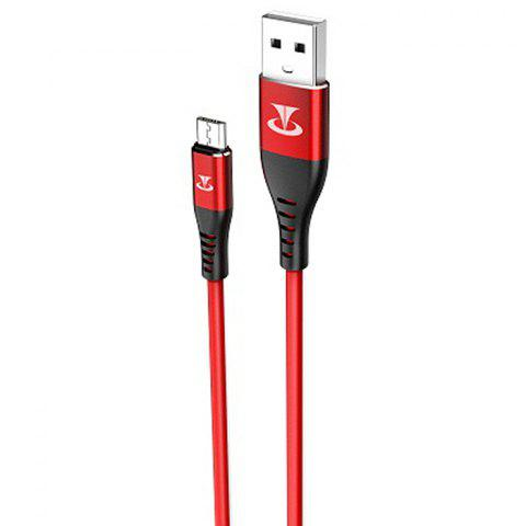 Teclast TL - H10M - R High-elastic Anti-freeze Data Cable for Android Micro USB