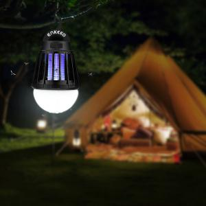 Enkeeo Camping Lantern with Mosquito Killer -