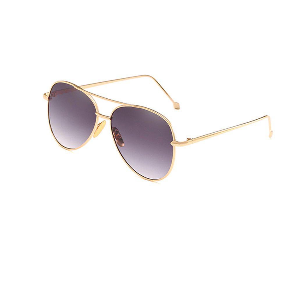 Sale Oval Metal Sunglasses Women Fashion Glasses Brand Designer Retro Vintage Sunglasses