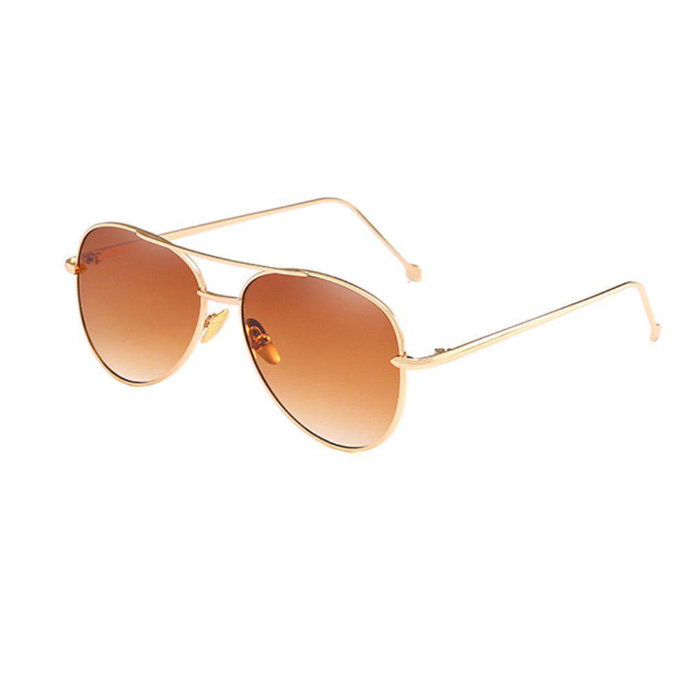 Online Oval Metal Sunglasses Women Fashion Glasses Brand Designer Retro Vintage Sunglasses