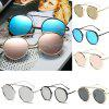 Round Metal Sunglasses Steampunk Men Women Fashion Glasses Brand Designer Retro Vintage Sunglasses UV400 -