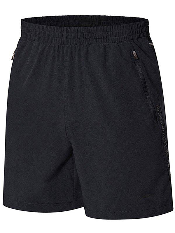 Best Li-Ning Men Running AT DRY Breathable  Comfort Sports Casual Shorts AKSN119-3