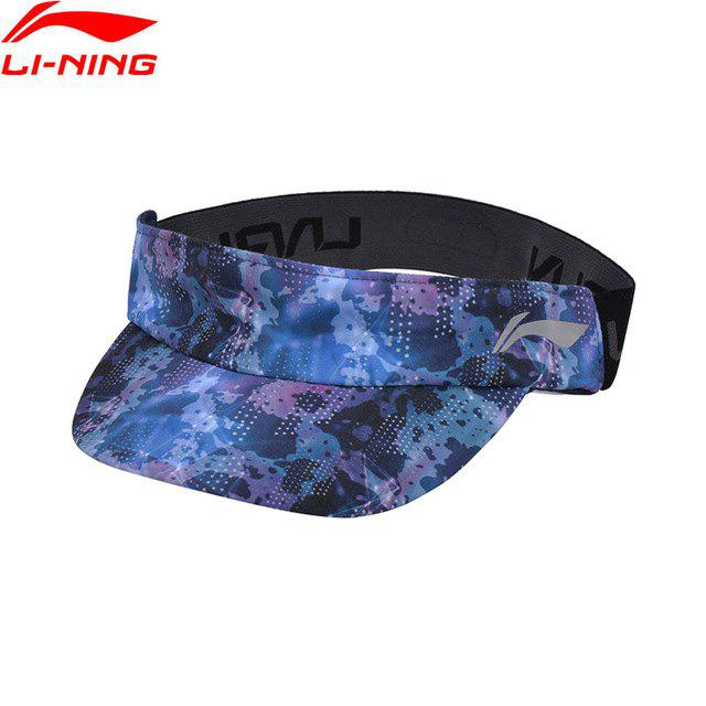 Outfit Li-Ning Unisex Running Series Cap Polyester LiNing Adjustable Printing Reflective Sports Hats AMXN002-2