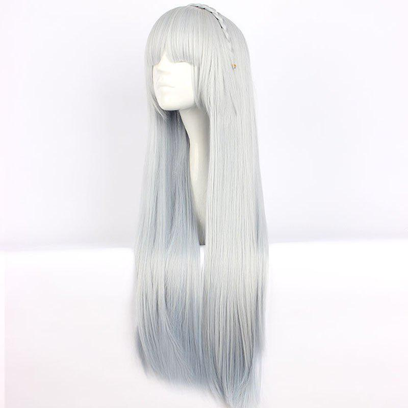 2019 Onmyoji Yuki Onna Gradient Color Cosplay Wig Rosegal Com