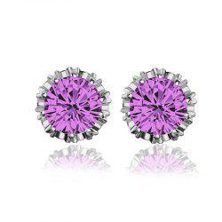 Women Stud Earrings Crystal Stud Earrings Women casual Party Earring Girls Gift Earrings -