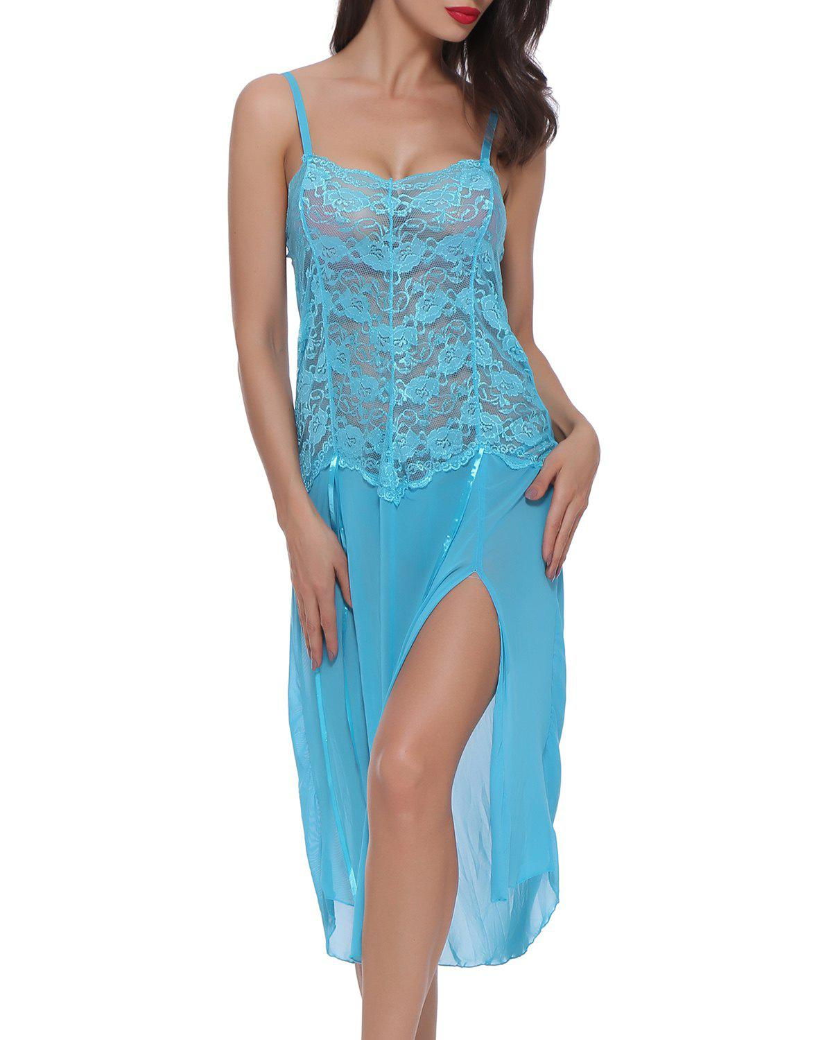 Outfits BELLEZIVA Lace Sexy  Lingerie Halter For Women Two Piece Teddy Babydoll Badysuit
