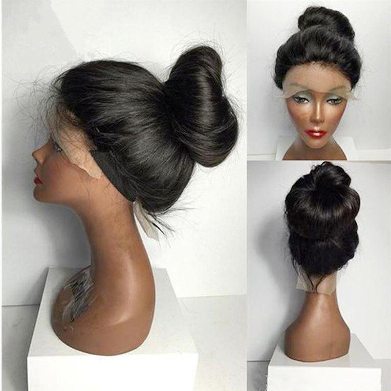Sale Women Long Ponytails Straight Lace Frontal Synthetic Wig