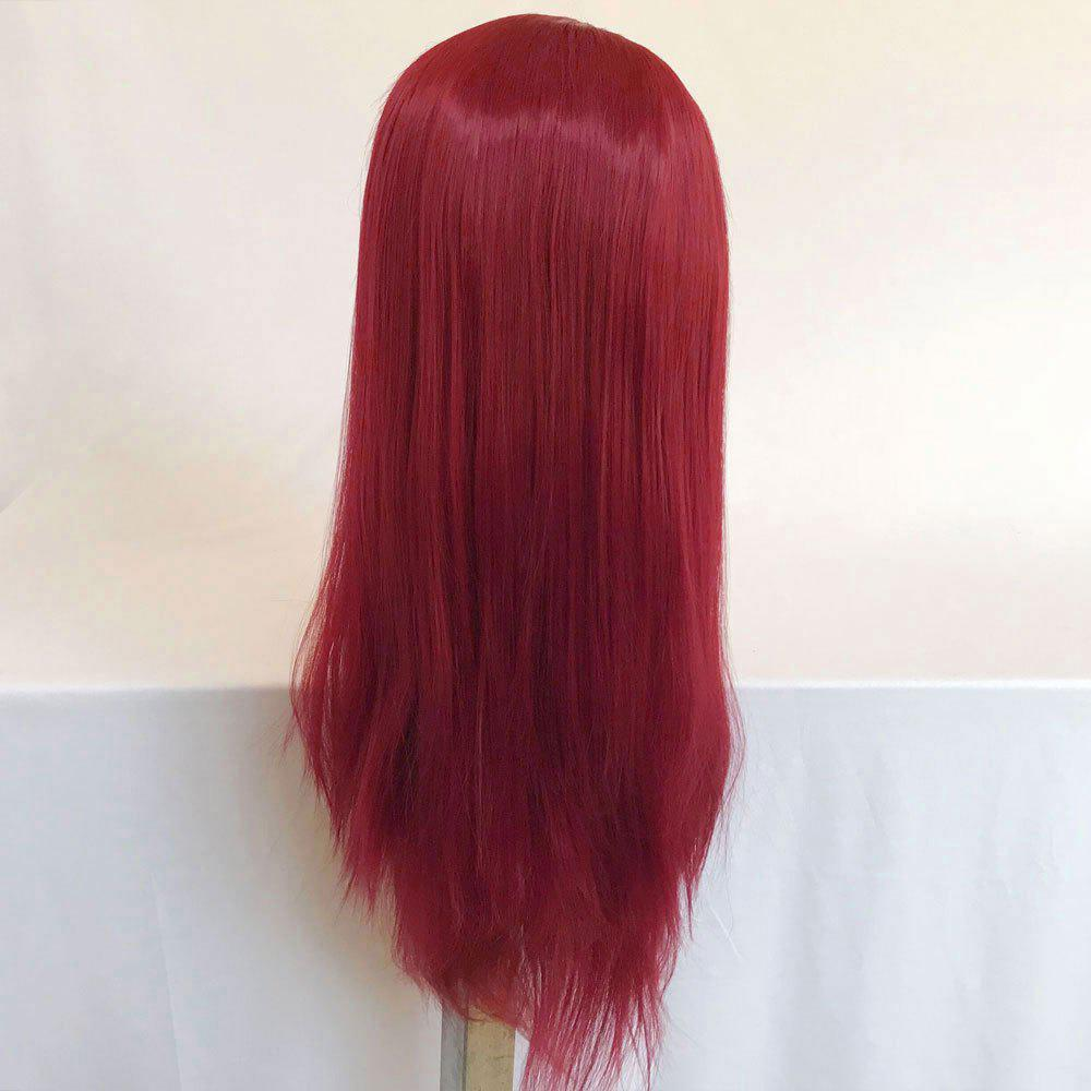 Online Women Long Ponytails Straight Lace Frontal Synthetic Wig