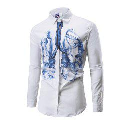 Autumn Printing Long Sleeve Shirts -