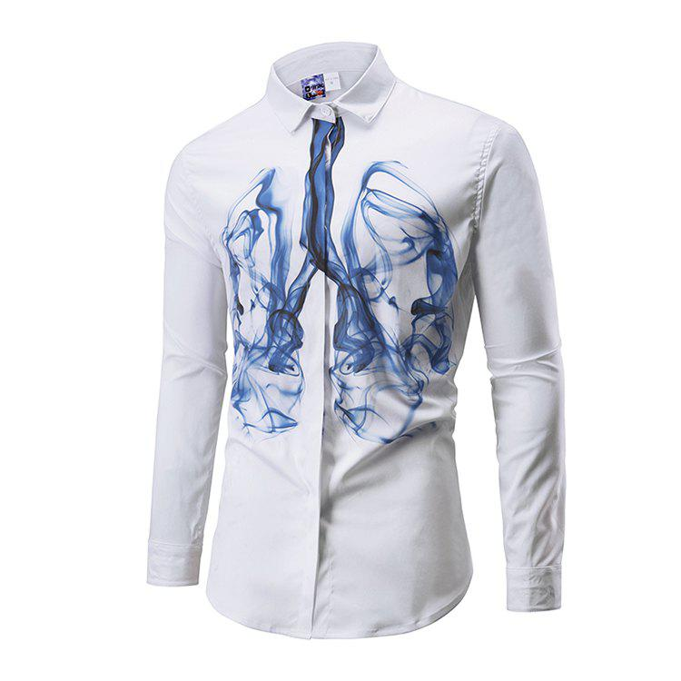 Outfit Autumn Printing Long Sleeve Shirts