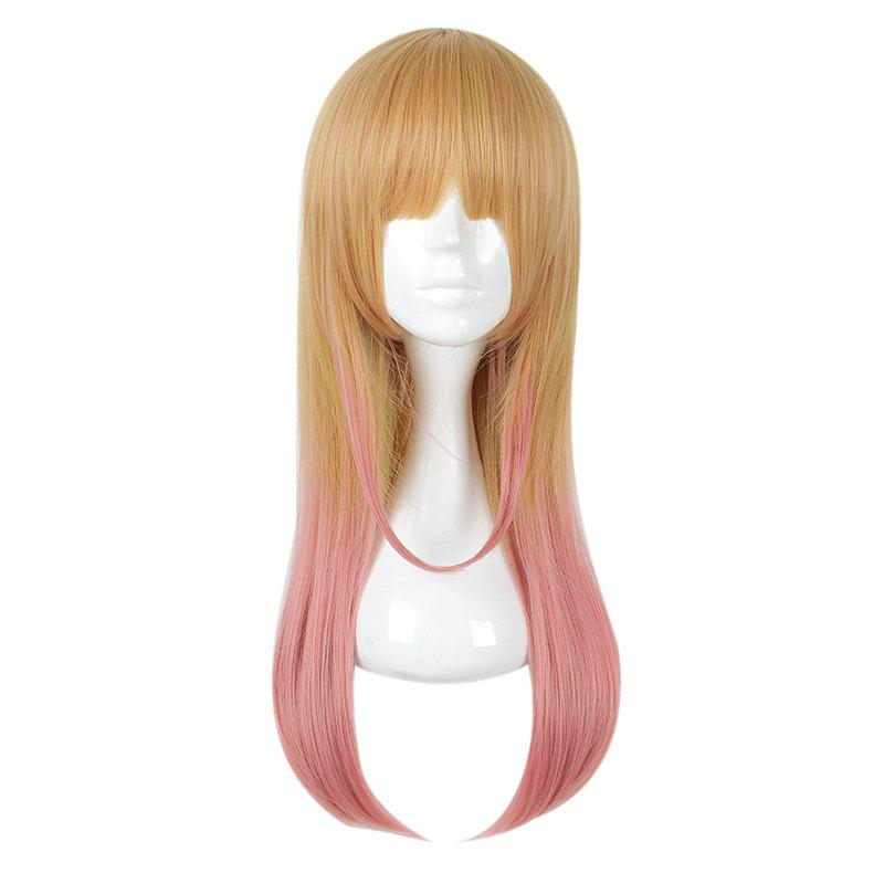 Fashion (Skirt no Naka wa Kedamono Deshita Kirishima Ryou) Gradient Color Cosplay Wig