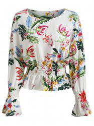 Colorfull Printed Tunic Top -