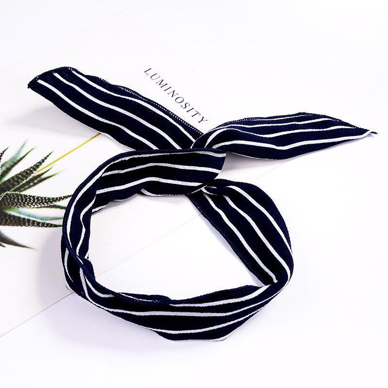 Fashion Plaid Knot Headband Turban Elastic Hairband Head Wrap Hair Accessories for Women Girls Striped Headwear Accessor