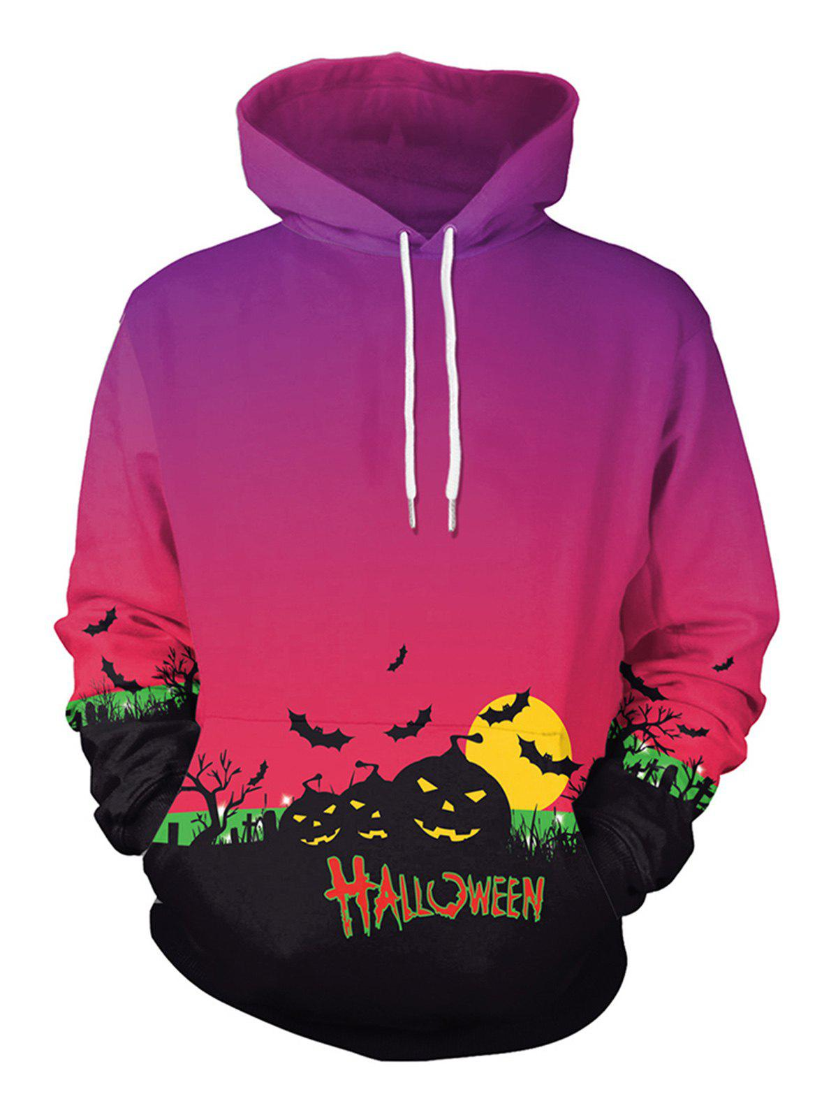 New Halloween  Unisex Casual 3D Patterns Print Athletic Sweaters  Hoodies Sweatshirts