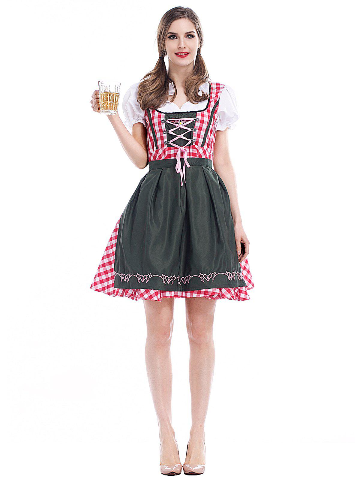 Chic Women's Cosplay Beer Costume Maid