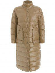 New Winter Women Down Jacket Ultra Light White Duck Down Parkas Pachwork Slim Warm Coat -