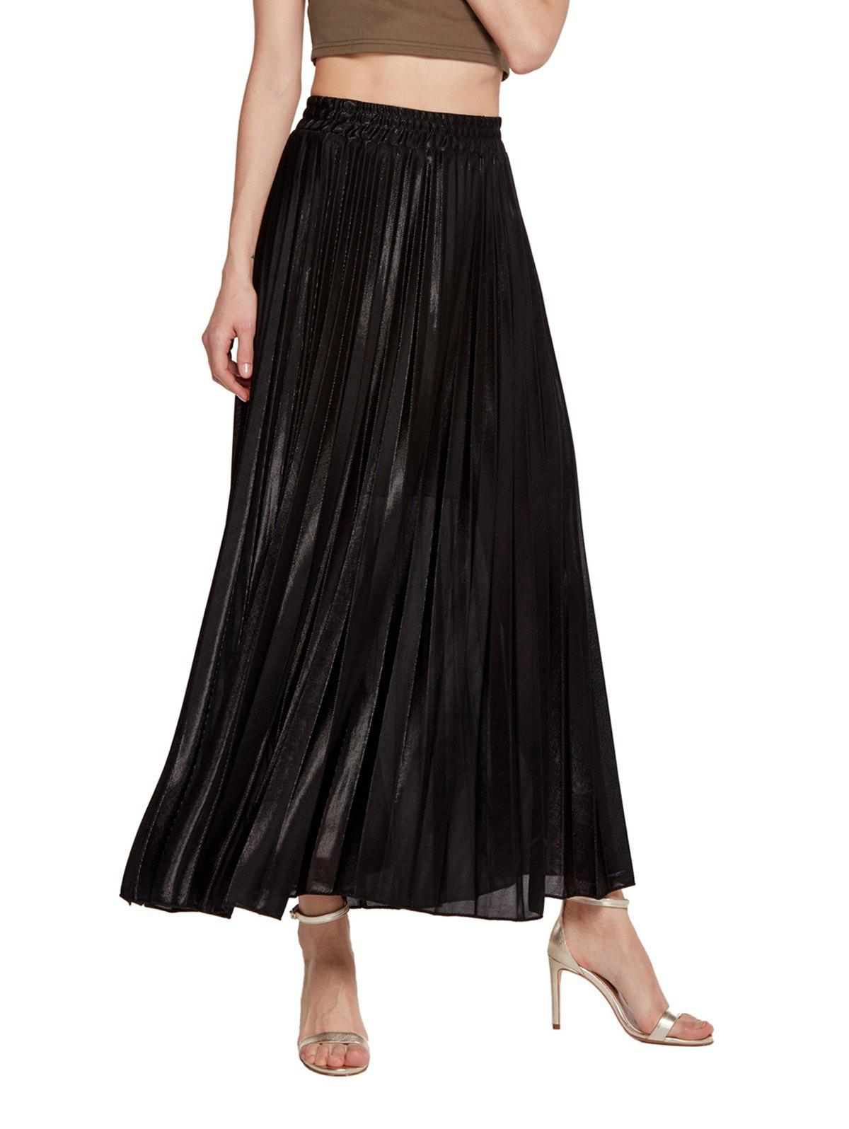 Buy Womens Lurex Sunray Pleats A Line Skirt