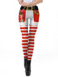 Womens Christmas Patterned Leggings for Fall and Winter Varity of Prints Leggings Pants -