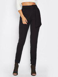 Women Casual Leisure High Waist Pants Trousers OL Office Harem Pants -
