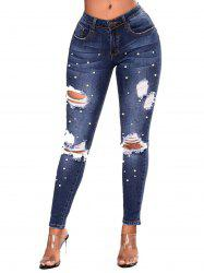 Womens Butt Lift Super Comfy Stretch Denim Skinny Jeans -