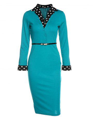 1ab88475 Green Pencil Dress - Free Shipping, Discount And Cheap Sale | Rosegal US