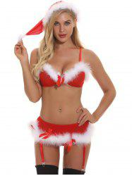 Santa Two Piece  Lingerie Babydoll -